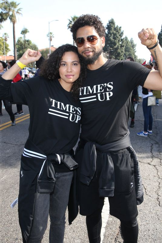JURNE SMOLLETT-BELL at Kingdom Day Parade in Los Angeles 01/15/2018