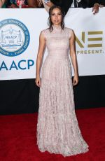JURNEE SMOLLETT-BELL at 49th Naacp Image Awards in Pasadena 01/14/2018