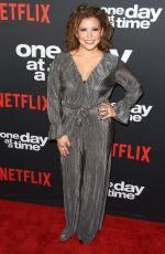 JUSTINA MACHADO at One Day at a Time Season 2 Premiere in Los Angeles 01/24/2018
