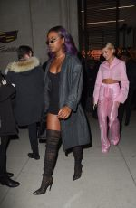 JUSTINE SKYE Leaves Republic Records Party in New York 01/26/2018