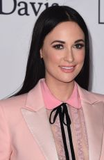 KACEY MUSGRAVES at Clive Davis and Recording Academy Pre-Grammy Gala in New York 01/27/2018