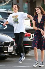 KAIA GERBER and Fenton Merkell Out in Los Angeles 01/27/2018