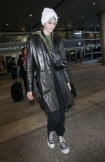 KAIA GERBER at LAX Airport in Los Angeles 01/25/2018