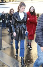 KAIA GERBER Out and About in Paris 01/19/2018