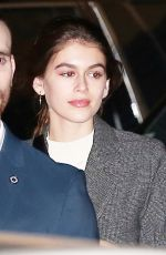 KAIA GERBER Out for Dinner at Nobu in Malibu 01/27/2018