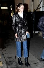 KAIA GERBER Out for Lunch at Restaurant L