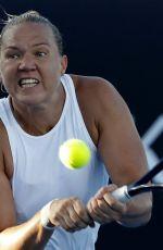 KAIA KANEPI at Australian Open Tennis Tournament in Melbourne 01/17/2018