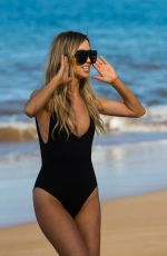 KAITLYN BRISTOWE in Swimsuit at a Beach in Hawaii 01/26/2018