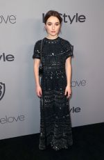 KAITLYN DEVER at Instyle and Warner Bros Golden Globes After-party in Los Angeles 01/07/2018