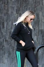 KALEY CUOCO Leaves a Nail Salon in Los Angeles 01/04/2018