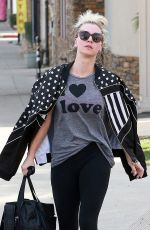 KALEY CUOCO Leaves Yoga Class in Studio City 01/24/2018