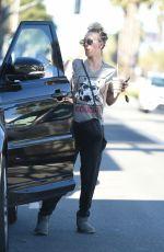 KALEY CUOCO Out and About in Los Angeles 01/22/2018