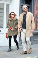 KARA TOINTON and Doctor Marius Jensen Out in London 12/12/2017