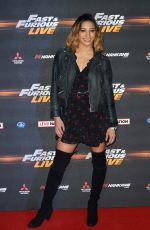 KAREN CLIFTON at Fast and Furious Live at O2 Arena in London 01/19/2018
