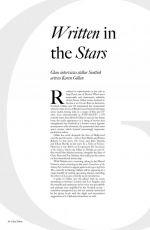 KAREN GILLAN for Glass Magazine, Summer 2017 Issue