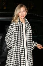 KARLIE KLOSS Night Out in London 01/25/2018