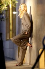 KARLIE KLOSS on the Set of a Commercial in West Hollywood 01/19/2018