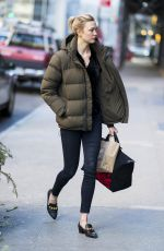 KARLIE KLOSS Out and About in New York 01/15/2018