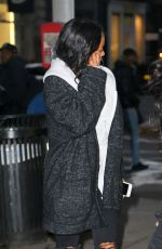 KARRUECHE TRAN Out and About in New York 01/20/2018