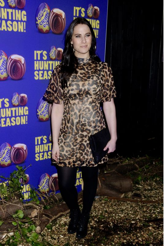 KAT SHOOB at Creme Egg Camp Opening in London 01/18/2018