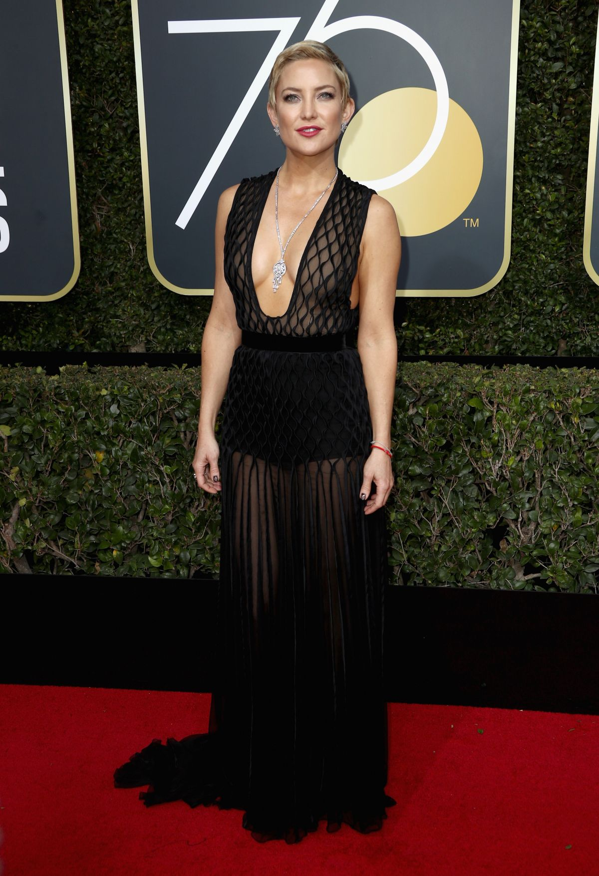 Kate Hudson At 75th Annual Golden Globe Awards In Beverly