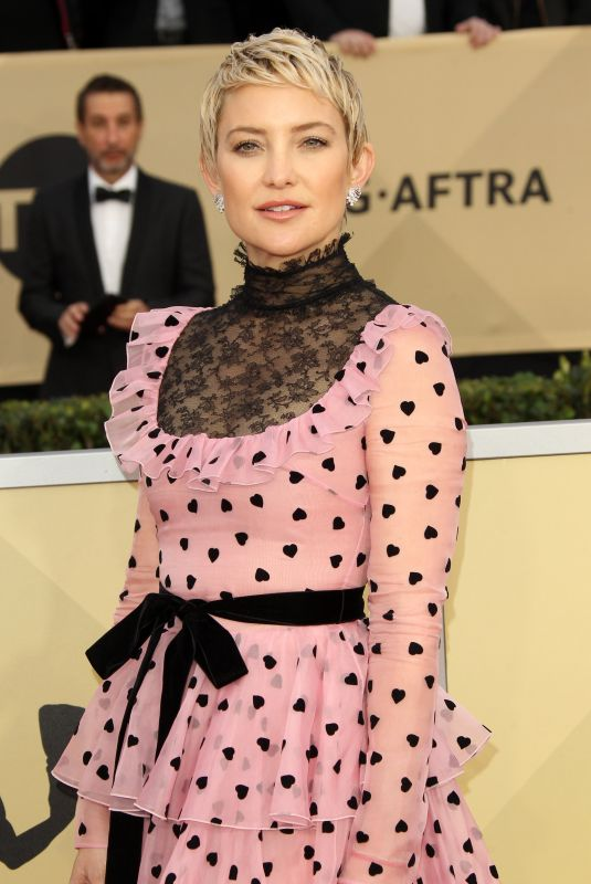 KATE HUDSON at Screen Actors Guild Awards 2018 in Los Angeles 01/21/2018