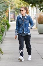 KATE MARA Out and About in Los Angeles 01/17/2018