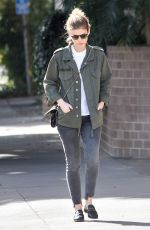 KATE MARA Out and About in Los Angeles 01/29/2018