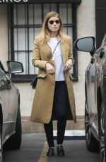 KATE MARA Shopping for Antiques in West Hollywood 01/19/2018
