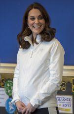 KATE MIDDLETON at Bond Primary School in London 01/17/2018