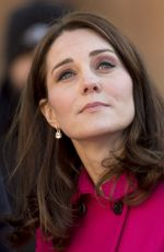 KATE MIDDLETON at Coventry Cathedral in Coventry 01/16/2018