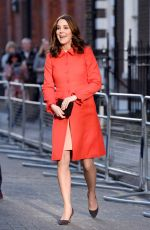 KATE MIDDLETON at Great Ormond Street Hospital in London 01/17/2018