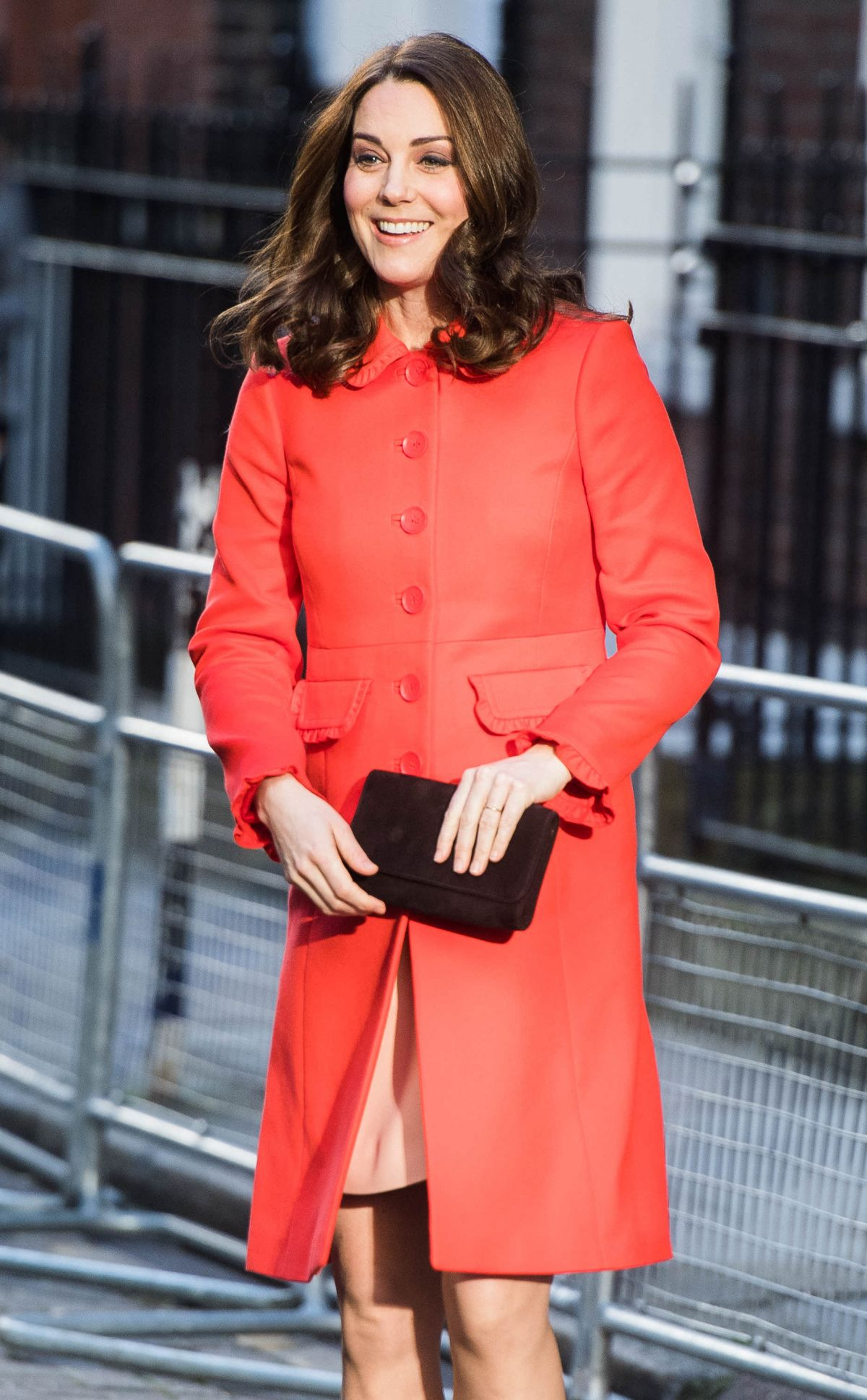 Kate Middleton At Great Ormond Street Hospital In London
