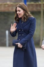 KATE MIDDLETON at Reach Academy with place2be in London 01/10/2018