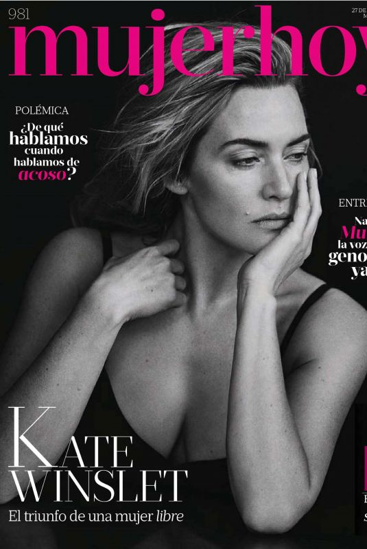 KATE WINSLET in Mujer Hoy Magazine, January 2018