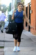 KATHARINE MCPHEE Heading to a Gym in Los Angeles 01/26/2018