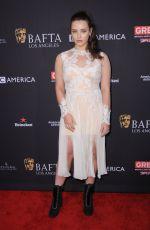 KATHERINE LANGFORD at Bafta Los Angeles Tea Party in Los Angeles 01/06/2018