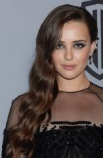 KATHERINE LANGFORD at Instyle and Warner Bros Golden Globes After-party in Los Angeles 01/07/2018