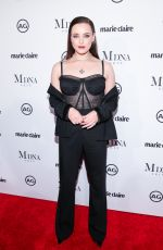 KATHERINE LANGFORD at Marie Claire Image Makers Awards in Los Angeles 01/11/2018