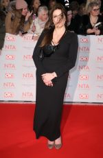 KATHRYN DOW at National Television Awards in London 01/23/2018