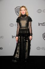 KATHRYN NEWTON at Instyle and Warner Bros Golden Globes After-party in Los Angeles 01/07/2018