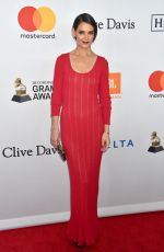 KATIE HOLMES at Clive Davis and Recording Academy Pre-Grammy Gala in New York 01/27/2018