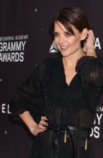 KATIE HOLMES at Delta Airlines Pre-grammy Party in New York 01/25/2018