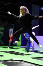 KATIE MCGLYNN at Flip Out Manchester Launch 01/25/2018