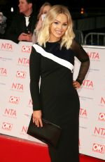 KATIE PIPER at National Television Awards in London 01/23/2018