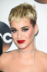 KATY PERRY at Disney/ABC Television TCA Winter Press Tour in Los Angeles 01/08/2018