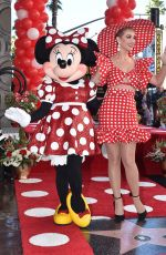 KATY PERRY at Minnie Mouse Honored with Star on Hollywood Walk of Fame Ceremony 01/22/2018