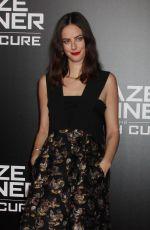 KAYA SCODELARIO at Maze Runner: The Death Cure Fan Screening in Los Angeles 01/18/2018