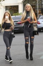 KAYLYN SLEVIN at Starbucks in Calabasas 01/15/2018