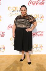 KEALA SETTLE at 5th Annual Gold Meets Golden in Los Angeles 01/06/2018